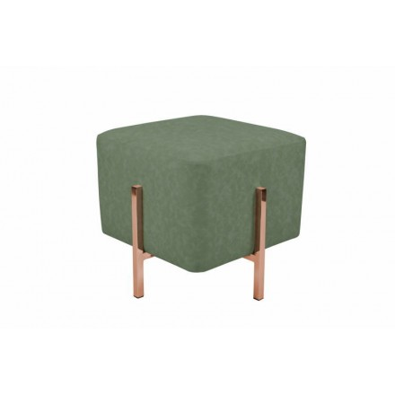 Pouf design LYSON (copper green)