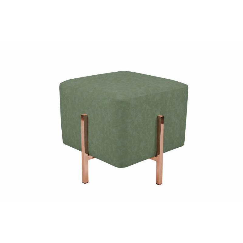 Pouf design LYSON (copper green)