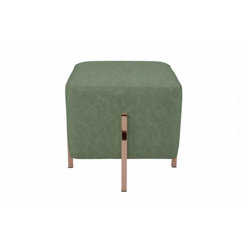 Pouf design LYSON (Vert cuivre) - image 41996