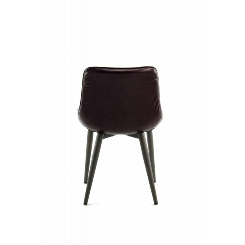 Lot de 2 chaises rétro matelassées EUGENIE (Violet) - image 42005