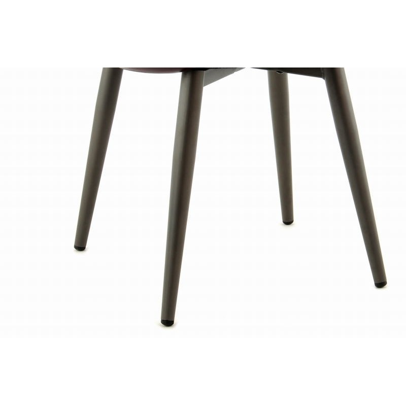 Lot de 2 chaises rétro matelassées EUGENIE (Violet) - image 42008