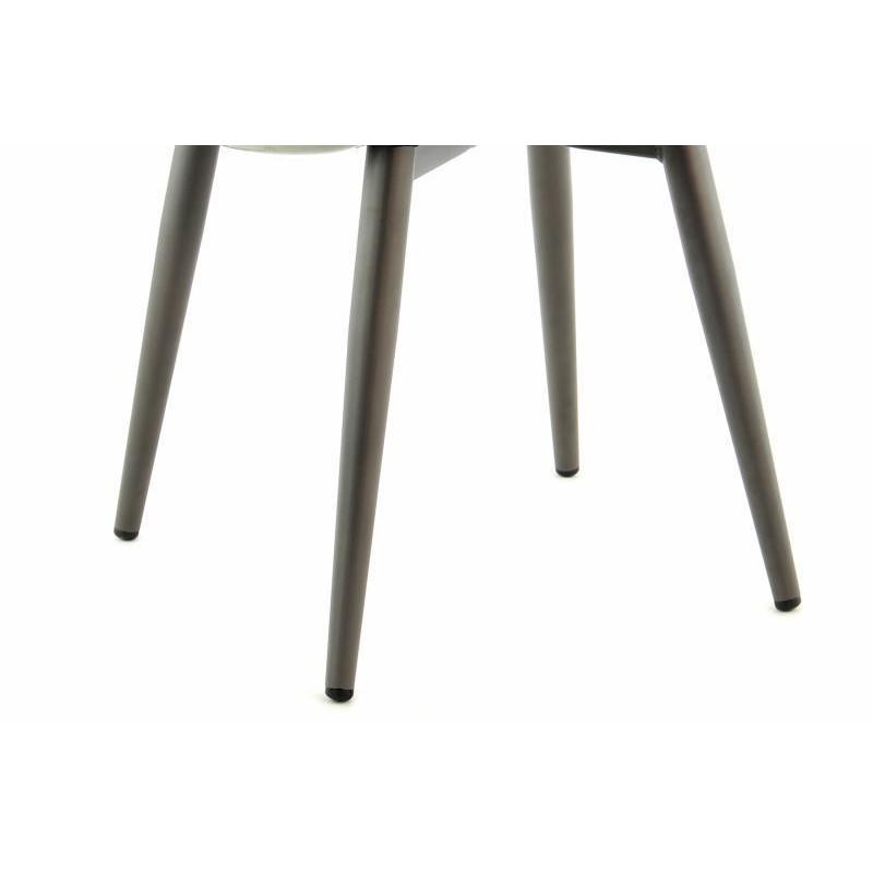 Lot de 2 chaises rétro matelassées EUGENIE (Vert) - image 42017