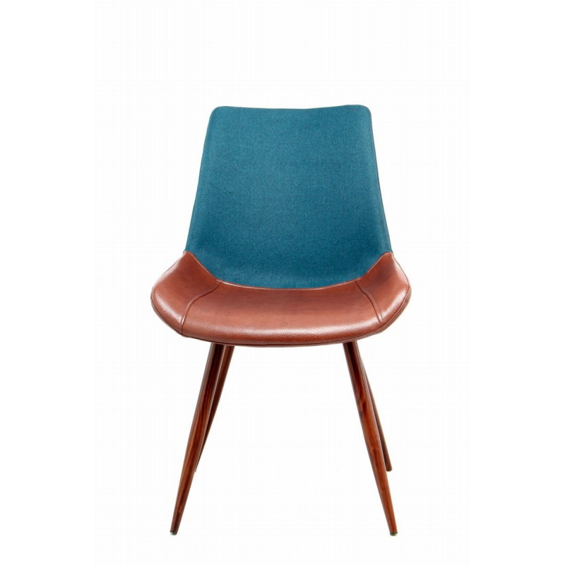 Set Stühle Jahrgang braunStühle 2er NELLYblau und dBxoeCQrW