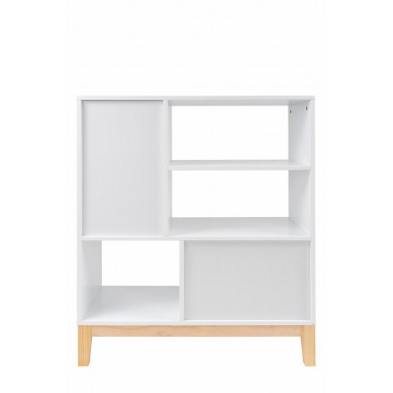 Scandinavian high storage MAITHE (white, natural)