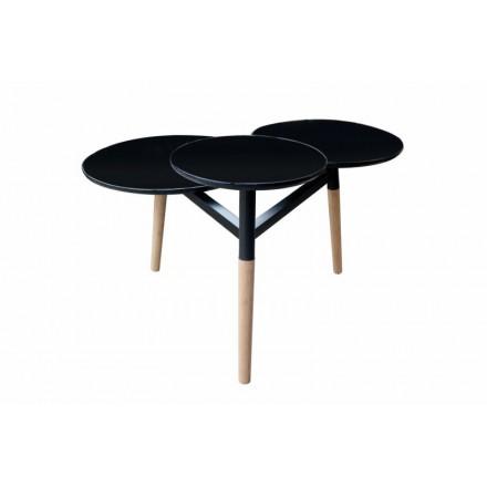 En 3 Basse Story BoisnoirAmp Moulinea Table 6201 Plateaux rexBodCW
