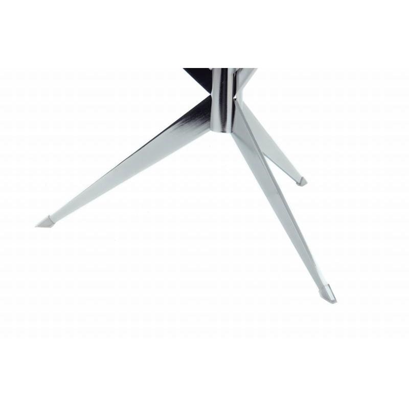 Tabella 3 vassoi, fine del divano di MARION in metallo e vetro (trasparenti, soldi) - image 42695
