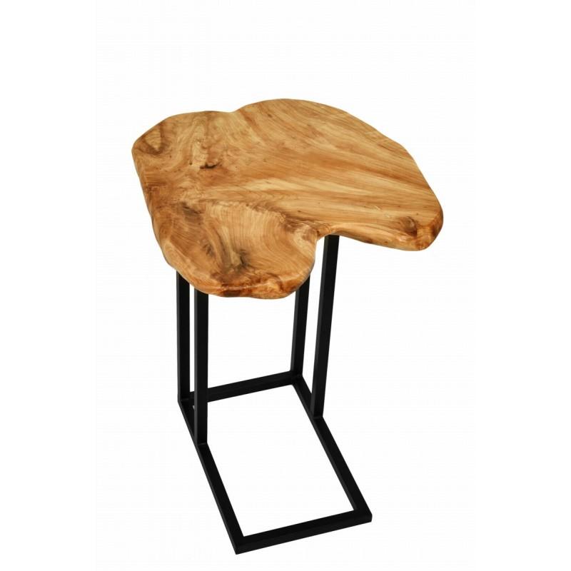 Tavolino, ricca in metallo e legno del fascio di cedro (naturale) - image 42735