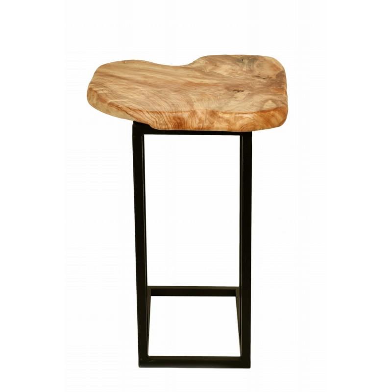 Beistelltisch, reich an Metall und Holz der Zeder (natürlichen) Kabelbaum - image 42736