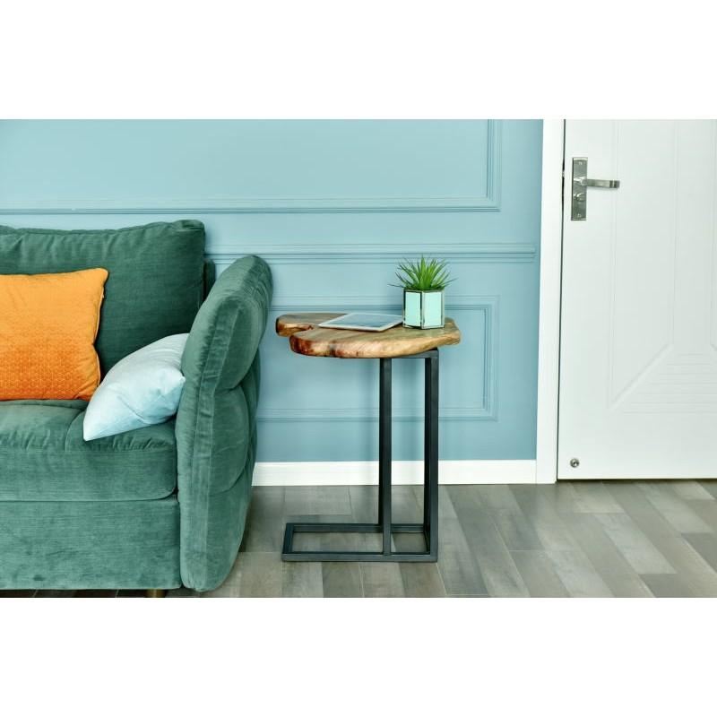 Tavolino, ricca in metallo e legno del fascio di cedro (naturale) - image 42742