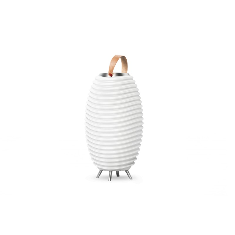 Lamp LED bucket champagne pregnant speaker bluetooth KOODUU synergy 35PRO (white)