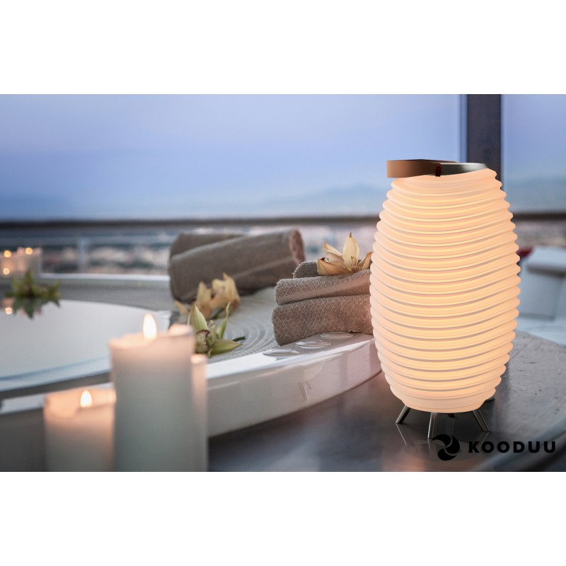 Lamp LED bucket champagne pregnant speaker bluetooth KOODUU synergy 50PRO (white) - image 42861