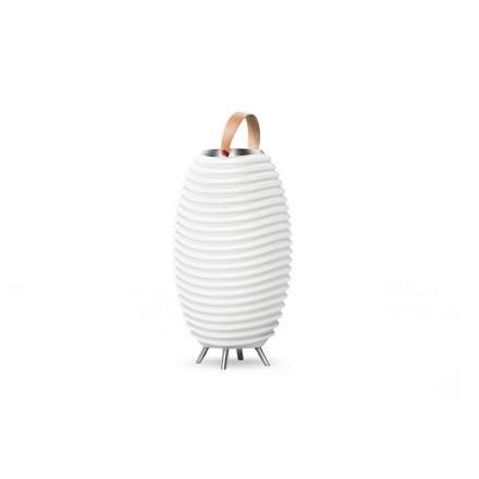 Lamp LED bucket champagne pregnant speaker bluetooth KOODUU synergy 65PRO (white)