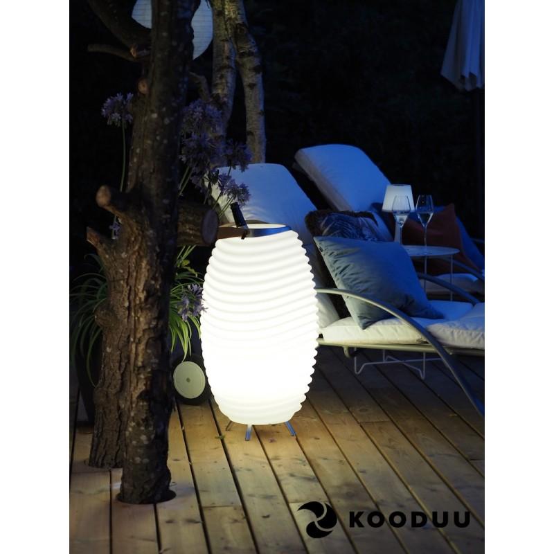 Lampada LED secchio champagne incinta altoparlante bluetooth KOODUU sinergia 65PRO (bianco) - image 42872