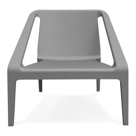 SUNY-design relax garden chair (dark gray)