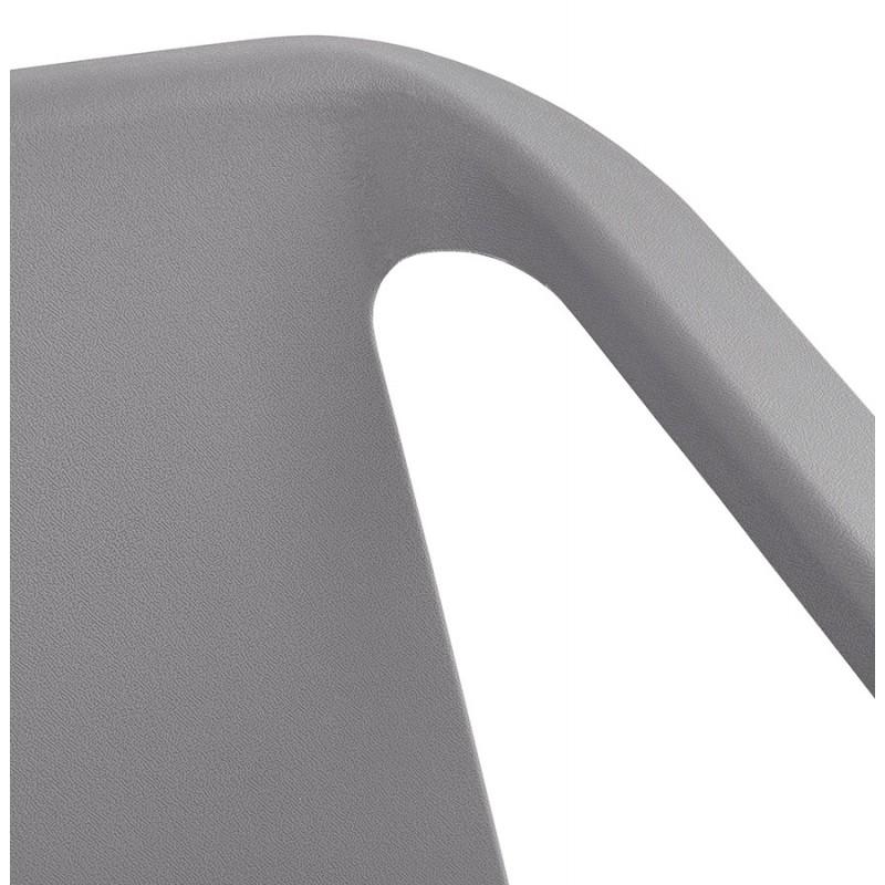 Fauteuil de jardin relax design SUNY (gris foncé) - image 42913