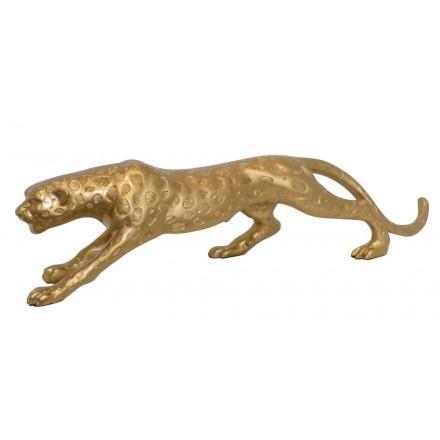 Diseño de escultura decorativa de la estatua embarazada de resina Bluetooth LEOPARD XL (oro)