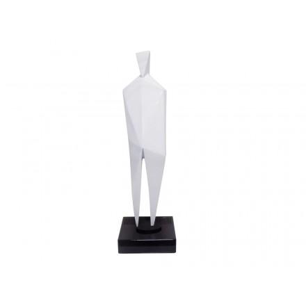Statue dekorative Skulptur Design schwangere Bluetooth HUMAN BODY in Harz (weiß)
