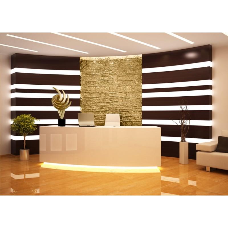 Statue sculpture décorative design enceinte Bluetooth THE PASTING en résine (Doré) - image 43060
