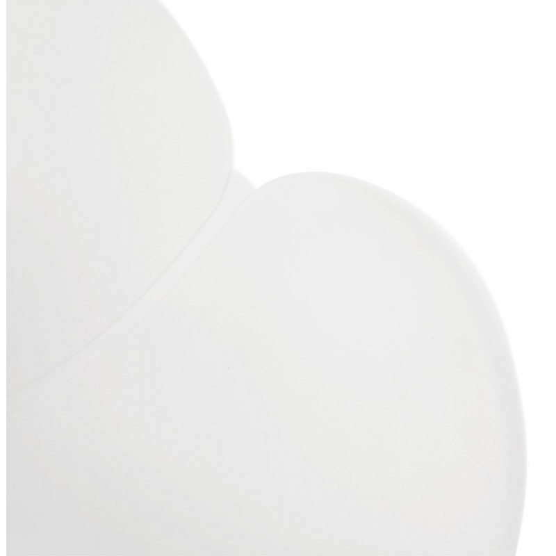 Sedia di design CIRSE in piedi nidi bianchi in polipropilene (bianco) - image 43265