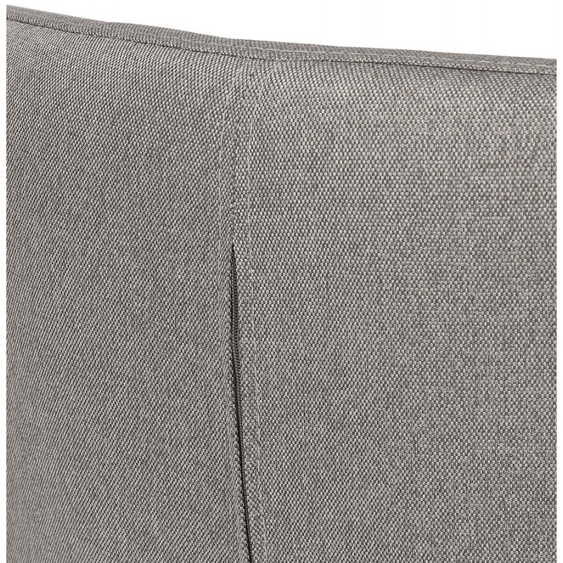 Fauteuil à oreilles contemporain  LICHIS en tissu (gris clair) - image 43639