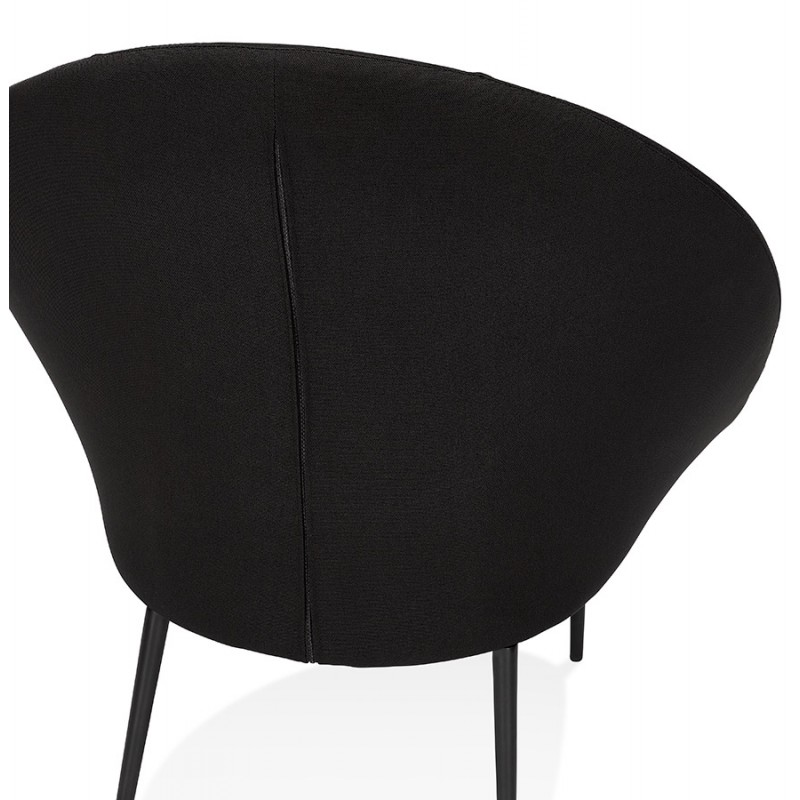 GOYAVE Sessel aus Stoff (schwarz) - image 43652