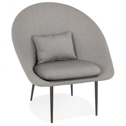 Sedia a sdraio GOYAVE in tessuto (grigio chiaro)