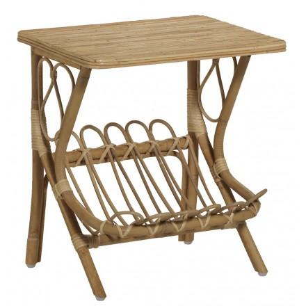 Niedriger Tisch, LYDIE rattan (natürlich)