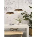 Lámpara de suspensión de corcho ALGARVE (marrón oscuro)