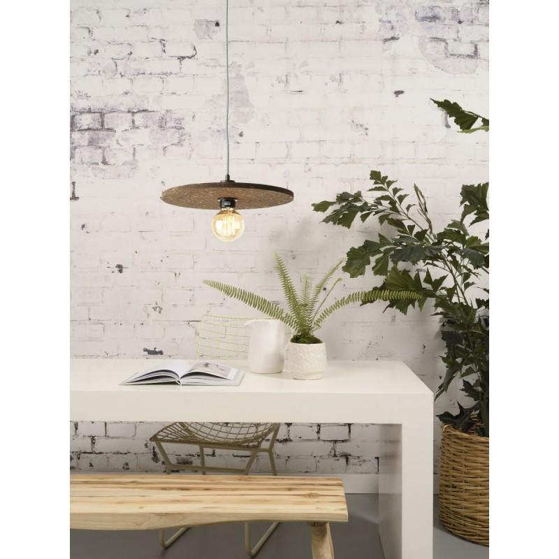 Lampe à suspension en liège ALGARVE (naturel) - image 44997