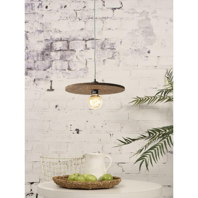 Lampe à suspension en liège ALGARVE (naturel) - image 44999