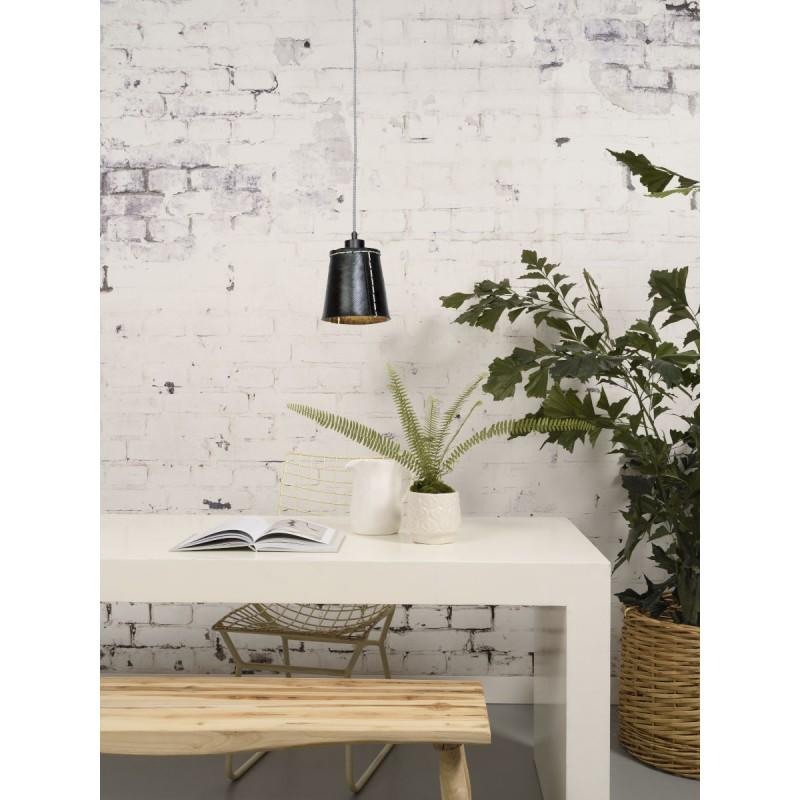 AMAZON SMALL 1 tonalità lampada sospensione pneumatici riciclati (nero) - image 45006