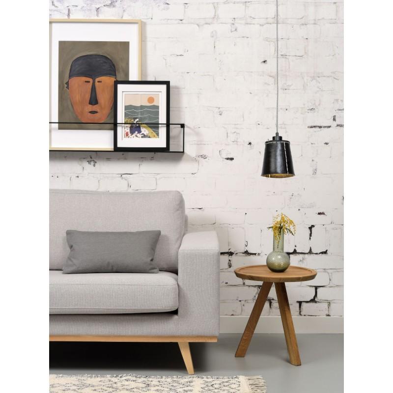 AMAZON SMALL 1 tonalità lampada sospensione pneumatici riciclati (nero) - image 45009