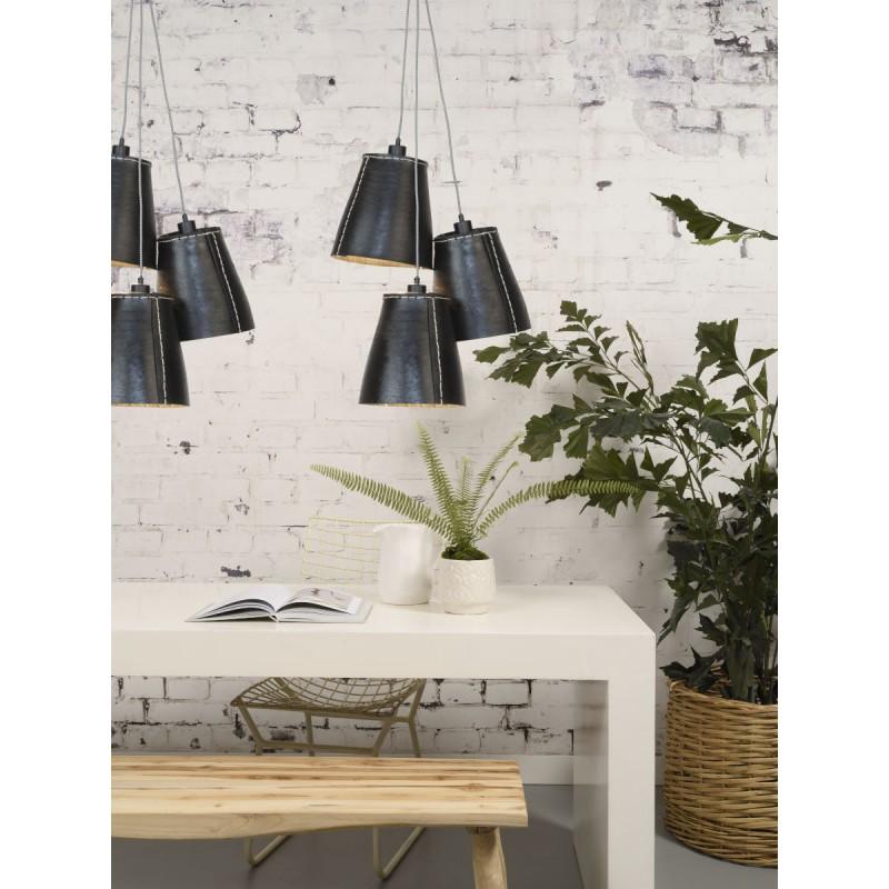 Amazon XL 3 paralume lampada pneumatici riciclati (nero) - image 45048