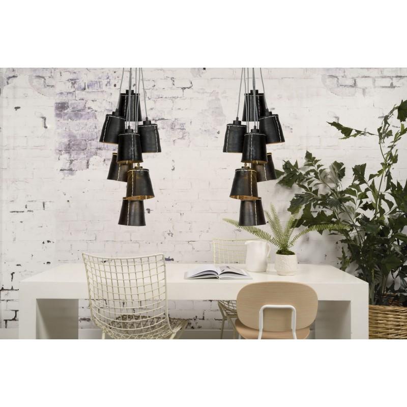 AMAZON XL 7 pneumatici riciclati lampada lampada tonalità lampada (nero) - image 45053