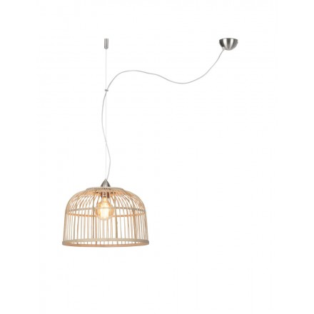 Lampe à suspension en bambou BORNEO SMALL  (naturel)