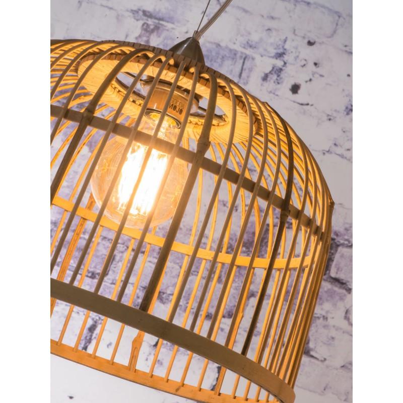 BORNEO SMALL bamboo suspension lamp (natural) - image 45058