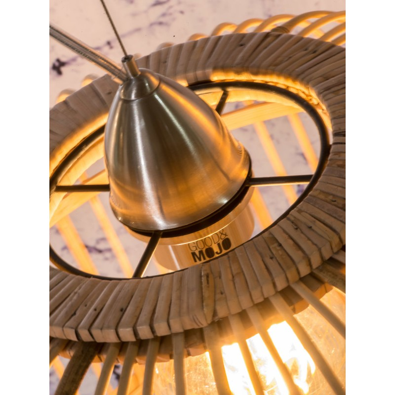 BORNEO XL bamboo suspension lamp (natural) - image 45076