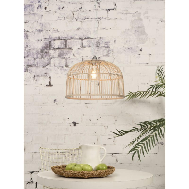 BORNEO XL bamboo suspension lamp (natural) - image 45082