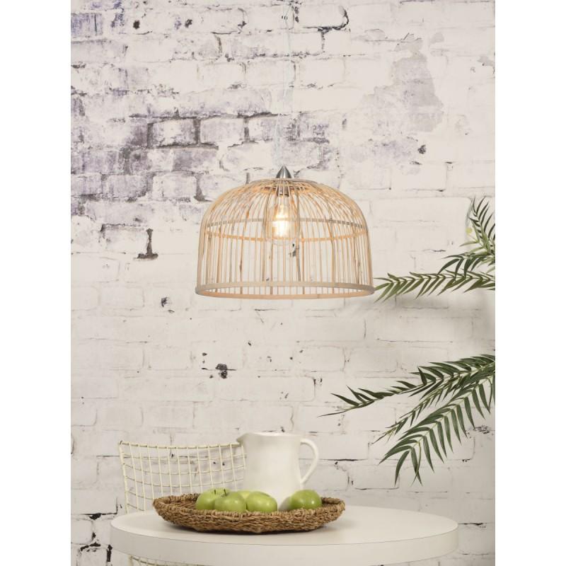Lampe à suspension en bambou BORNEO XL (naturel) - image 45082
