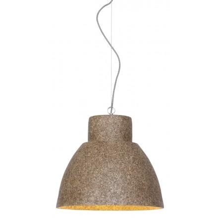 Lámpara de suspensión de viruta de madera CEBU (natural)