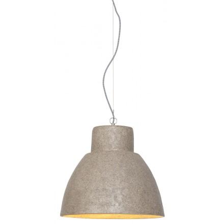 Lampe à suspension en copeaux de bois CEBU (sable)