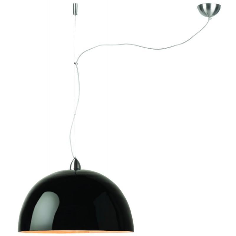 Lampe à suspension en bambou HALONG (noir)