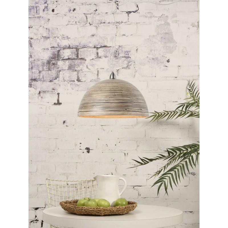 Lampe à suspension en bambou HALONG (naturel) - image 45122