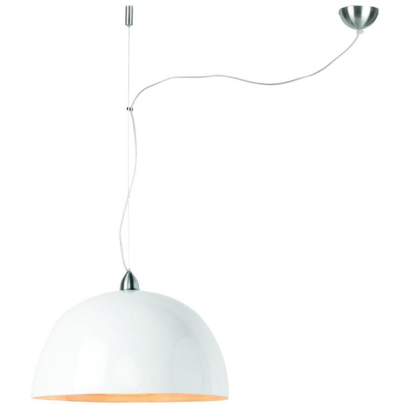 Lampada a sospensione bambù HALONG (bianca) - image 45123