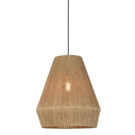 Lampe à suspension en jute IGUAZU SMALL (Ø 40 cm) (naturel)