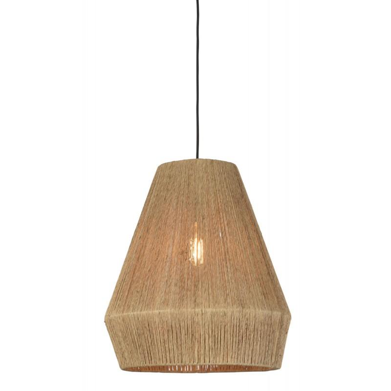 Lampe à suspension en jute IGUAZU SMALL (Ø 40 cm) (naturel) - image 45165