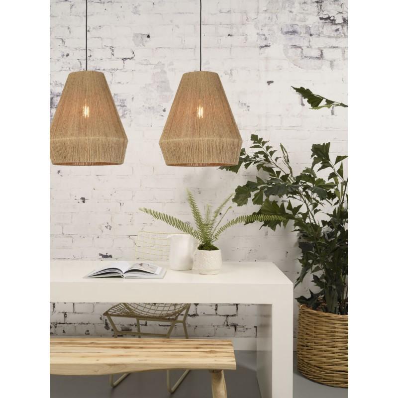 Lampe à suspension en jute IGUAZU SMALL (Ø 40 cm) (naturel) - image 45167