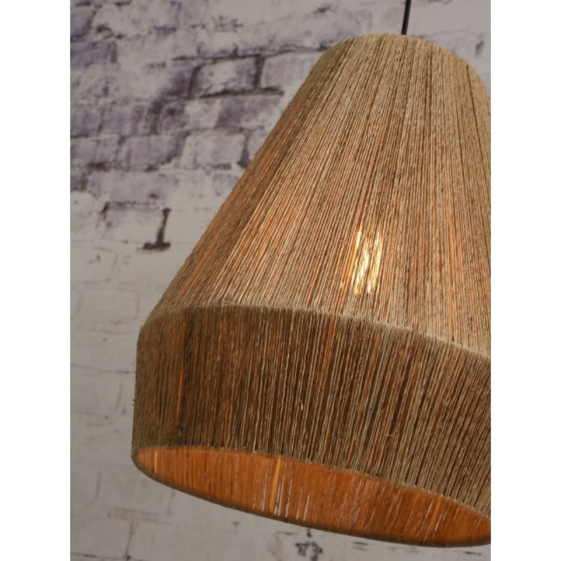 Lampe à suspension en jute IGUAZU SMALL (Ø 40 cm) (naturel) - image 45172