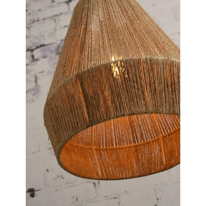 Lampe à suspension en jute IGUAZU SMALL (Ø 40 cm) (naturel) - image 45174