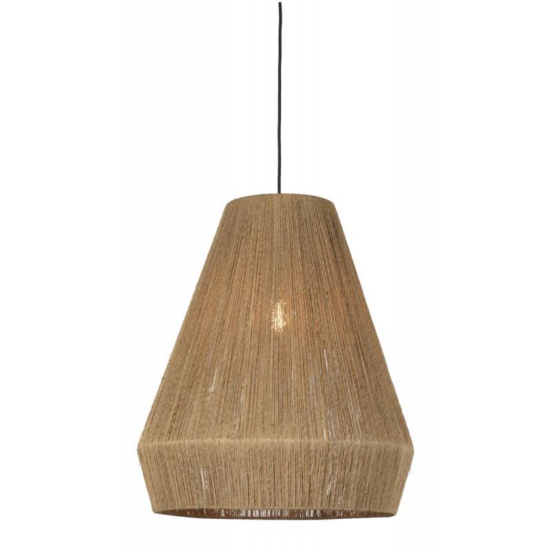 Lampe à suspension en jute IGUAZU XL (Ø 50 cm) (naturel) - image 45177
